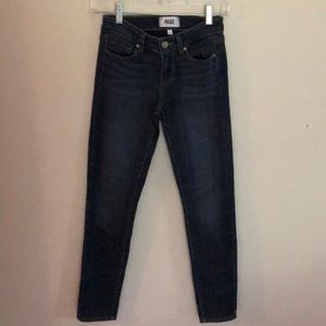 PAIGE Denim Verduga Ankle Stretch Jeans Size 25